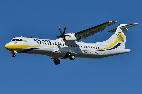 ATR_72-600_Air_KBZ_(KBZ)_F-WWEV_-_MSN_1085_-_Will_be_XY-AJJ_(9739869773).jpg