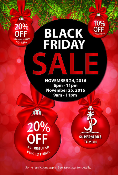 BLACK FRIDAY_ JP SUPERSTORE TUMON 25X37 POSTER.JPG