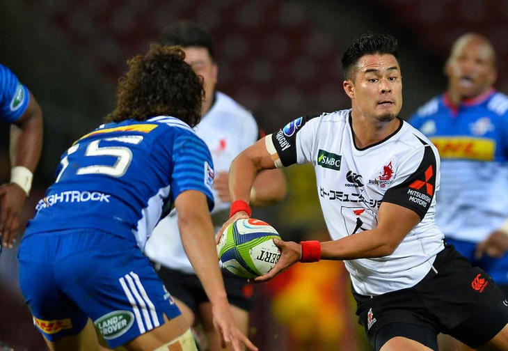 002 Sunwolves flyhalf Yu Tamura faces Stormers in 2017 Super Rugby season.jpg