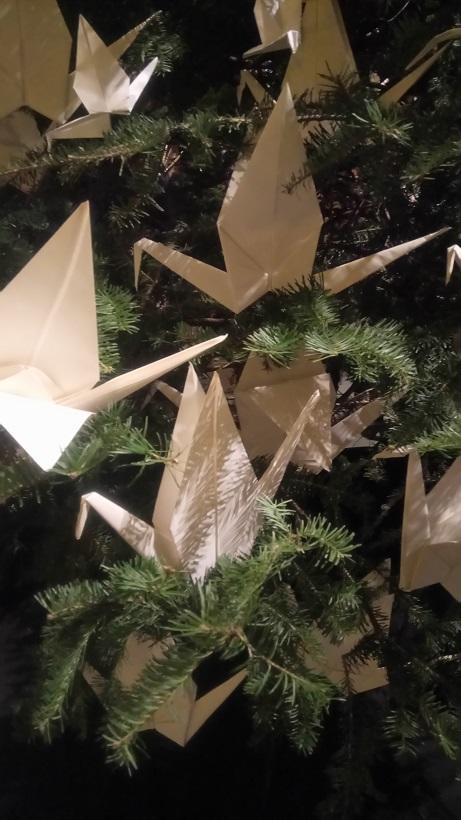 WHite Crane Ornament.JPG