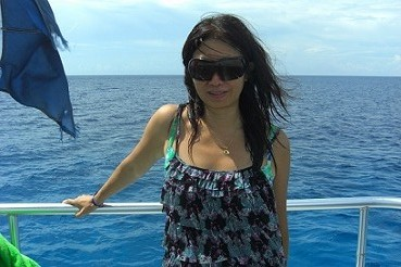 T on the Diving Boat.JPG