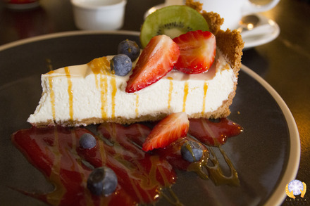 Cheese Cake at Sweetday Cafe in Riga Latvia.jpg