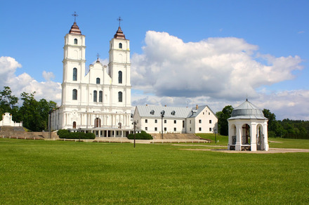 Feel the special atmosphere and splendid interior of one of the most noted sanctuaries in the world  Aglona Basilica.jpg
