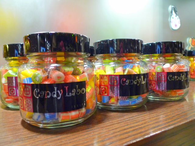 Colourful candies made in Ishiya confectionery