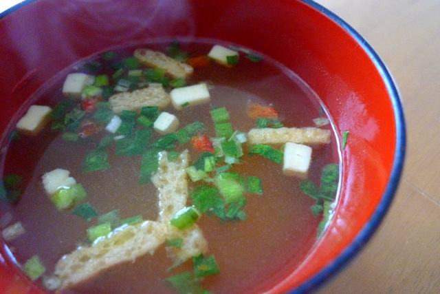 Tasty Quick Cooking Soy Soup