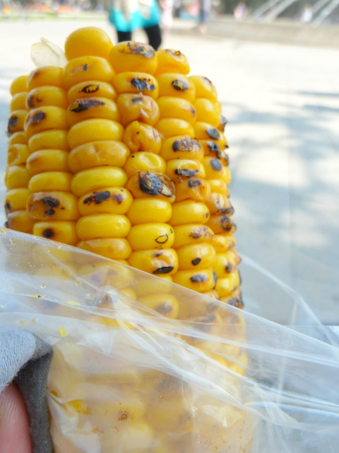 Grilled Corn with Original Soy Source