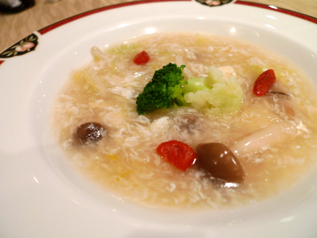 Vegetable Soup with Soy Milk Skin
