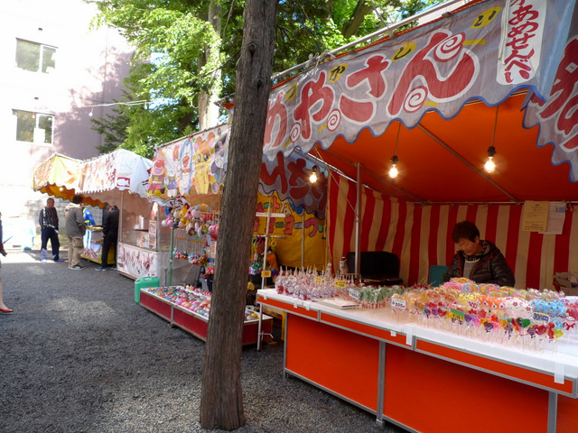 Stalls that is Regular Scene of Japanese Festival