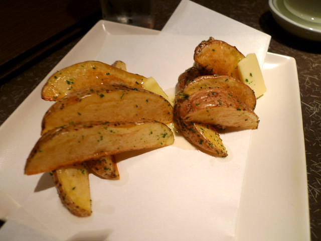 French Fry of Deifferent kinds of Potatoes, Sayaakane and Hokkai Kogane