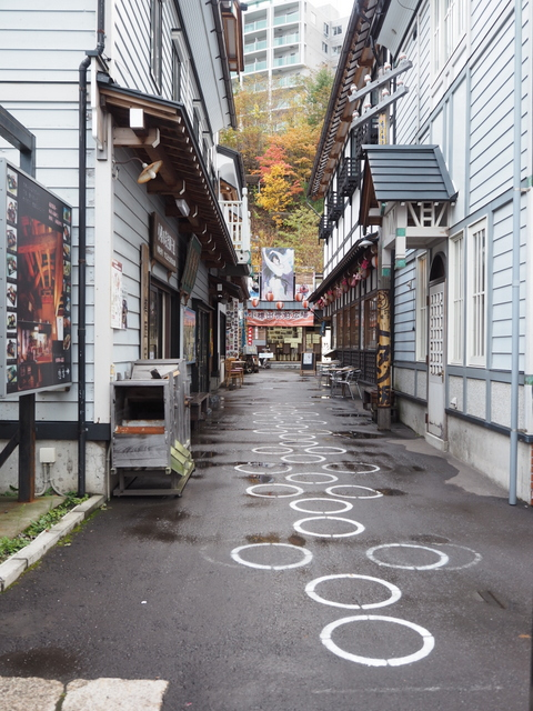 Sakaimachi Street, one of the most popular spots for sightseeing in Otaru