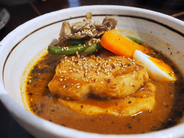 Pork kakuni(braised pork) soup curry