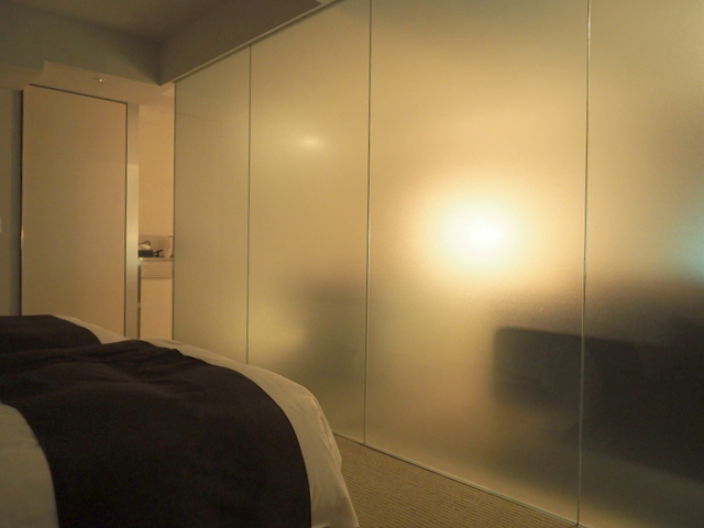 View of the room from a massage chair