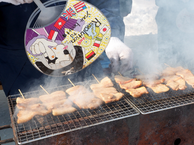 Grilled sweet pork from Ishikari Atsuta