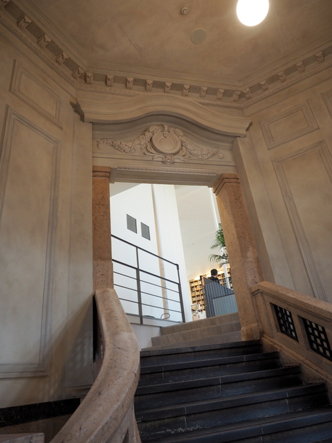 Entrance of the 2nd floor which was the one of Former Archive Annex of Hokkaido