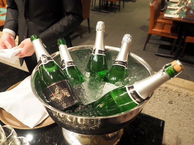 "Welcome drink ""Otaru Kerner Sparkling"""