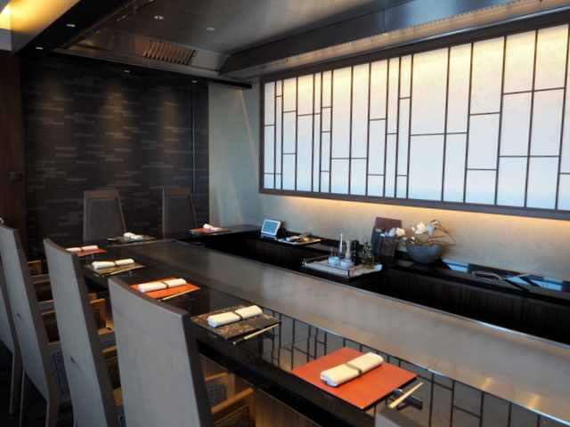 TEPPANYAKI YAMANAMI at the 22nd floor in KEIO PLAZA HOTEL SAPPORO