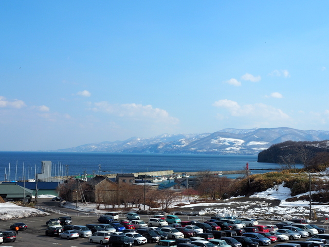 View from Otaru Aquarium