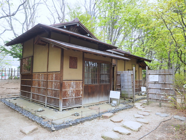 "Historical tea house ""Hasso-an"""