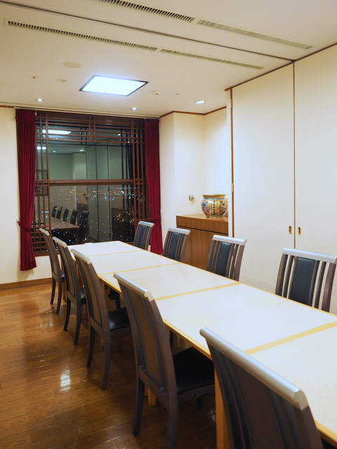 "Private dining room in ""Senun"""