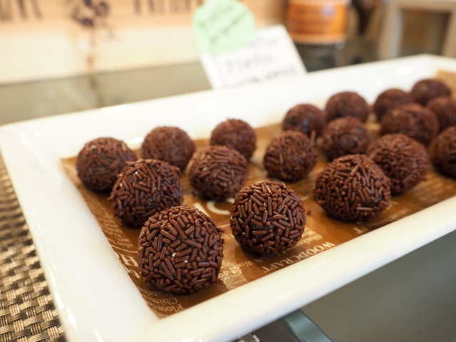 Brigadeiro which is truffle from Brazil