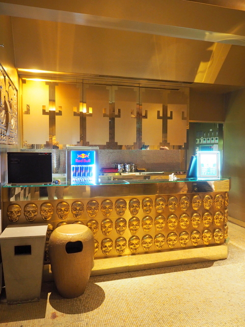 Bar counter for VIP rooms on the 3rd floor