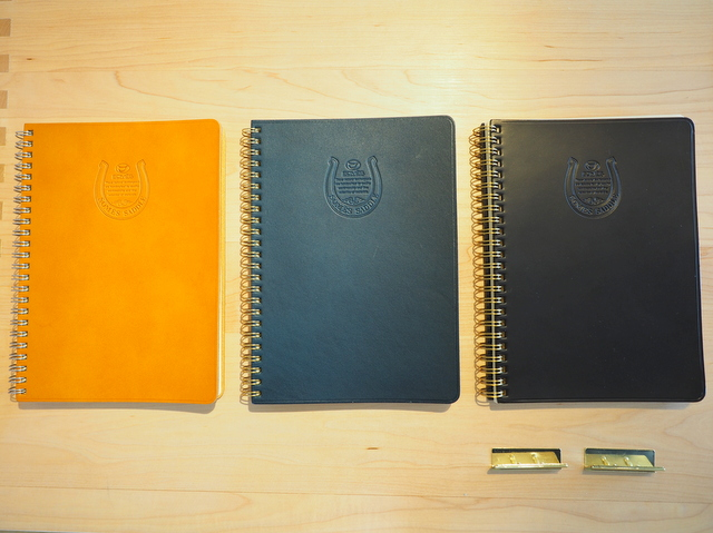 "Finished products of notebooks ""DOLMAN"""