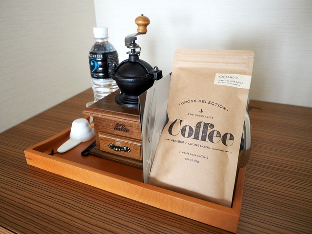 Special blend coffee for CROSS HOTEL SAPPORO