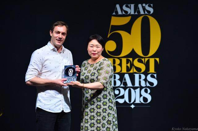 th_1Joshua Ivanovic, Junglebird, The Best Bar in Malaysia sponsored by Nikka Whisky, with Emiko Kaji, International Business Development Manager, Nikka Whisky.jpg
