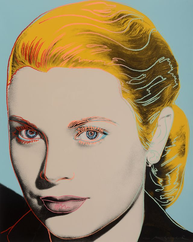 ANDY WARHOL - The Podium Lounge 2015 Exhibition - GRACE KELLY.jpg