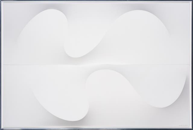th_W - White on 2P Waves, Anthony Poon (Singapore, 1945-2006), Acrylic on canvas, AD 1990, Collection of S.jpg